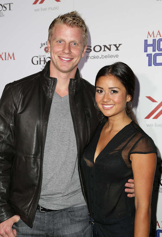 TV personality Sean Lowe and guest arrive for Maxim's Hot 100 Celebration at Create Nightclub on May 15, 2013 in Hollywood, California. Photo: Chelsea Lauren, WireImage / 2013 WireImage