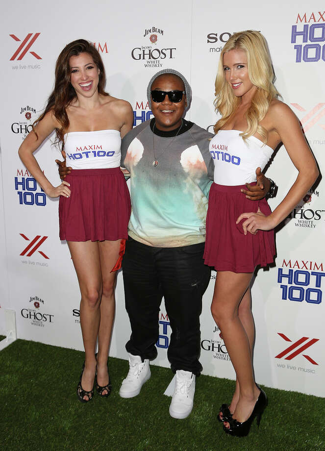 Actor Kyle Massey (C) arrives for Maxim's Hot 100 Celebration at Create Nightclub on May 15, 2013 in Hollywood, California. Photo: Chelsea Lauren, WireImage / 2013 WireImage