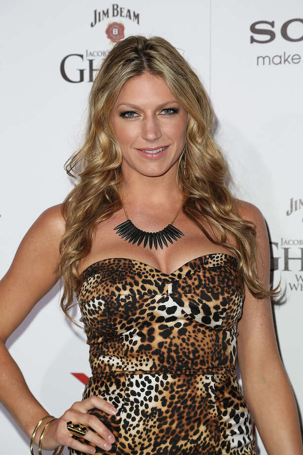 Actress Jess Macallan arrives for Maxim's Hot 100 Celebration at The Vanguard on May 15, 2013 in Los Angeles, California. Photo: Chelsea Lauren, WireImage / 2013 WireImage