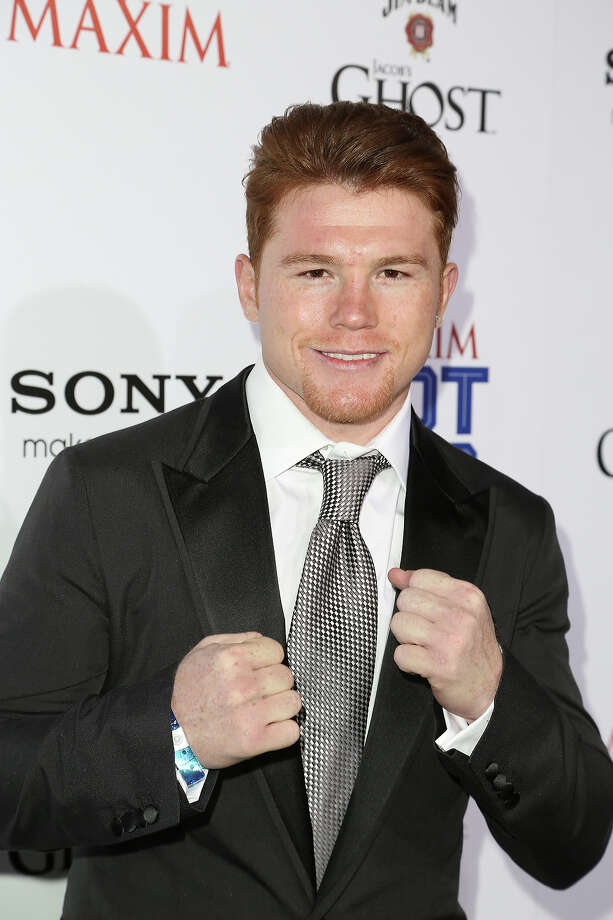 Saul Canelo Alvarez arrives for Maxim's Hot 100 Celebration at Create Nightclub on May 15, 2013 in Hollywood, California. Photo: Chelsea Lauren, WireImage / 2013 WireImage