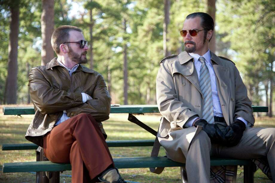 "Chris Evans, left, and Michael Shannon star in ""The Iceman."" Photo: Anne Marie Fox / ANNE MARIE FOX"