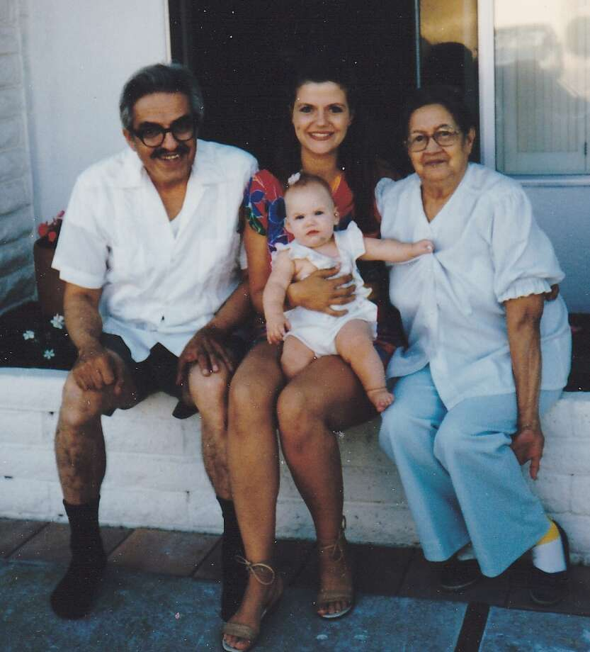The infant author with her grandfather, mother and great-grandmother. (Courtesy Nancy Brown)