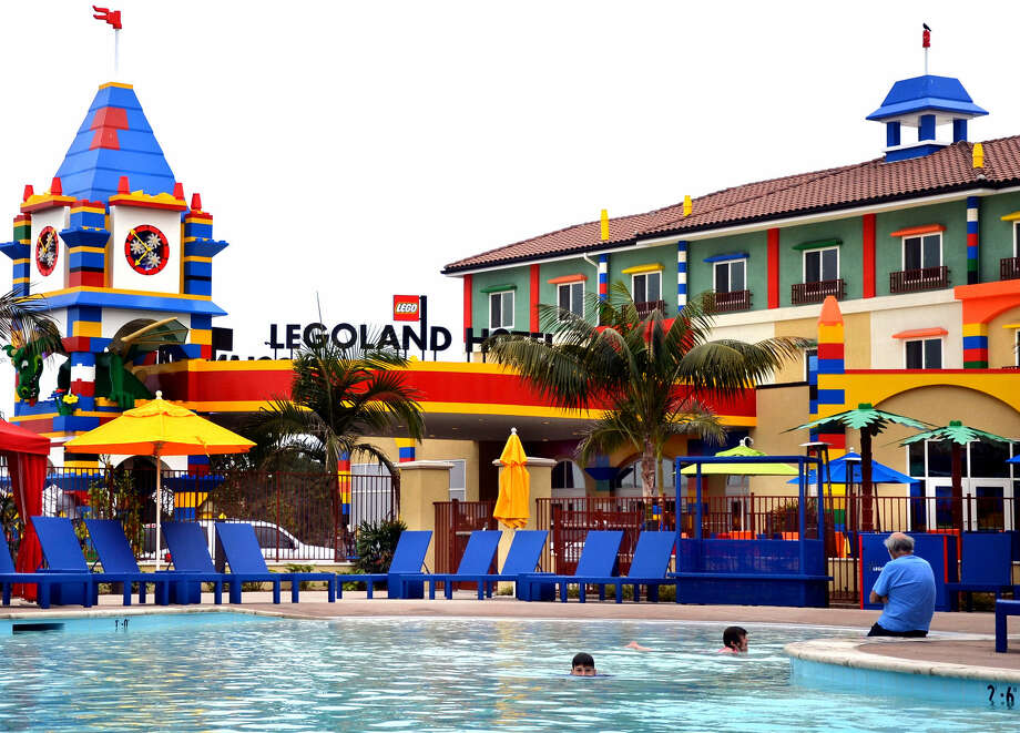 The Legoland Hotel in Carlsbad, Calif., has 250 rooms on three levels, a long, shallow pool and talking Lego dragons. Photo: Photos Courtesy McClatchy-Tribune News Service