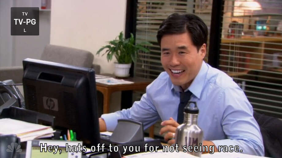 1. Asian Jim. Simple, silly, classic 'Office' even in the later seasons. Watch here: [http://bit.ly/104Or8E] Photo: Picasa