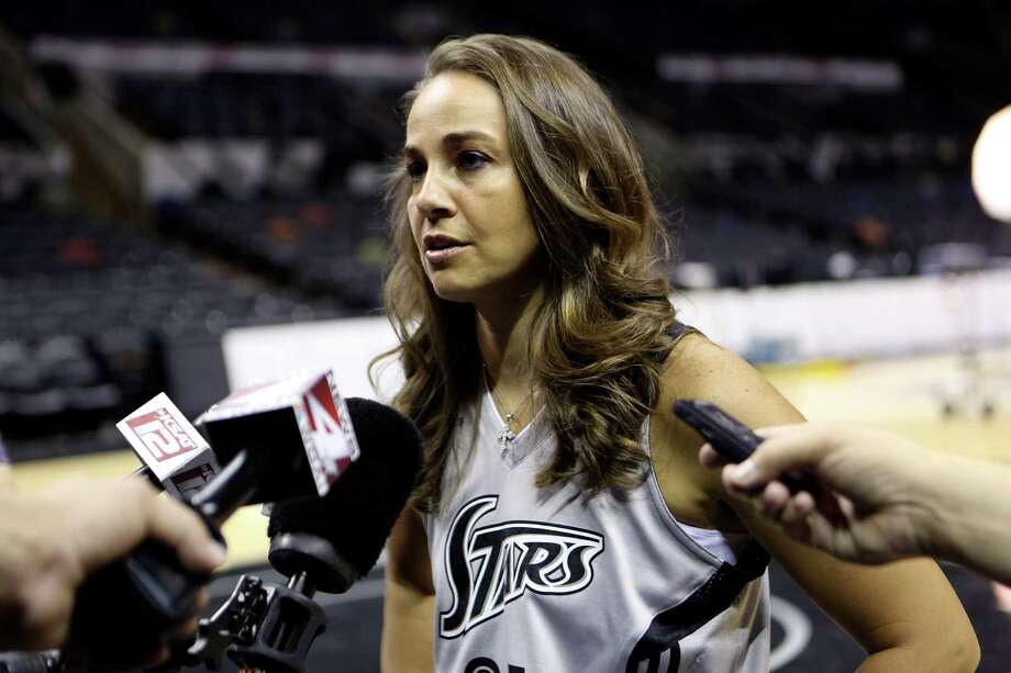 Becky Hammon during Silver Stars media day, Thursday May 16, 2013. Photo: Helen L. Montoya, San Antonio Express-News / ©2013 San Antonio Express-News