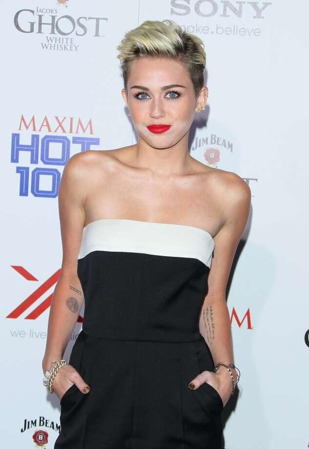 HOLLYWOOD, CA - MAY 15: Miley Cyrus attends the Maxim 2013 Hot 100 party held at Create on May 15, 2013 in Hollywood, California. (Photo by JB Lacroix/WireImage)
