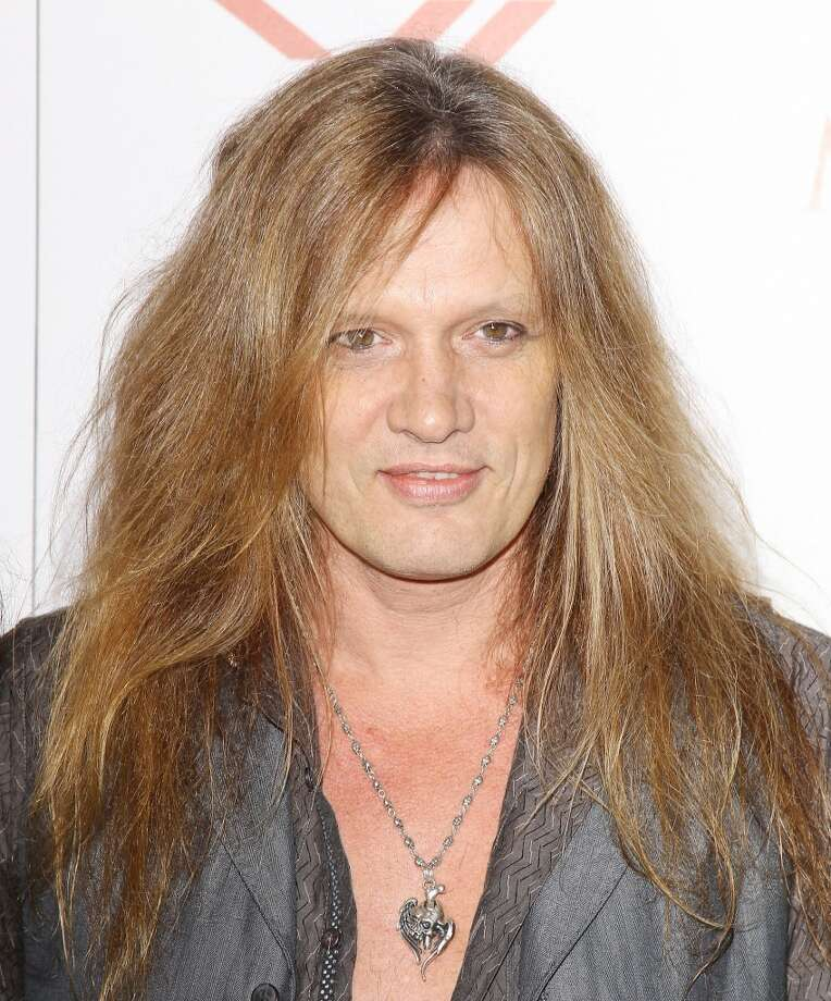 HOLLYWOOD, CA - MAY 15:  Sebastian Bach arrives at the Maxim 2013 Hot 100 Party held at Create on May 15, 2013 in Hollywood, California.  (Photo by Michael Tran/FilmMagic)