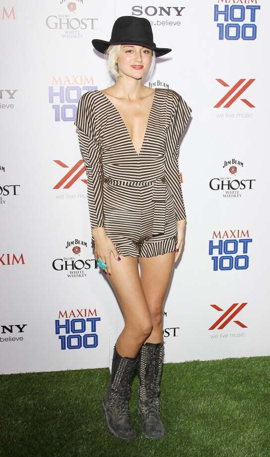 HOLLYWOOD, CA - MAY 15:  Caroline D'amore arrives at the Maxim 2013 Hot 100 Party held at Create on May 15, 2013 in Hollywood, California.  (Photo by Michael Tran/FilmMagic)