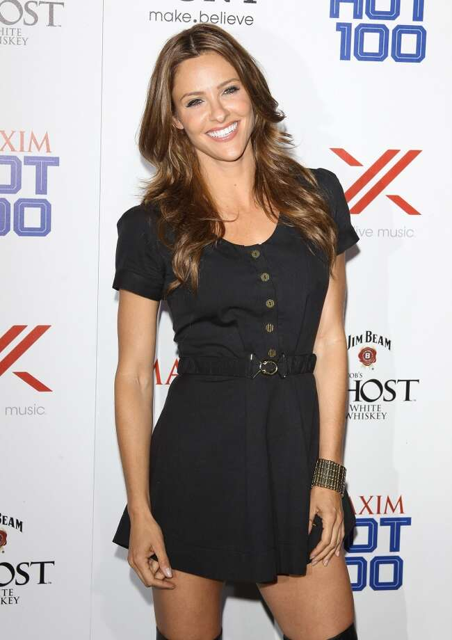 HOLLYWOOD, CA - MAY 15:  Jill Wagner arrives at the Maxim 2013 Hot 100 Party held at Create on May 15, 2013 in Hollywood, California.  (Photo by Michael Tran/FilmMagic)