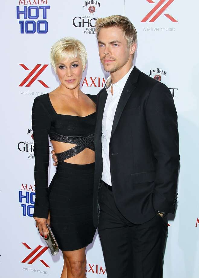 HOLLYWOOD, CA - MAY 15: Kellie Pickler and Derek Hough attend the Maxim 2013 Hot 100 party held at Create on May 15, 2013 in Hollywood, California. (Photo by JB Lacroix/WireImage)