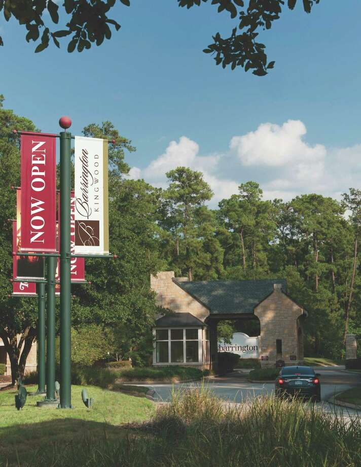 The community of Barrington Kingwood is a 200-acre, gated neighborhood in the heart of Kingwood.