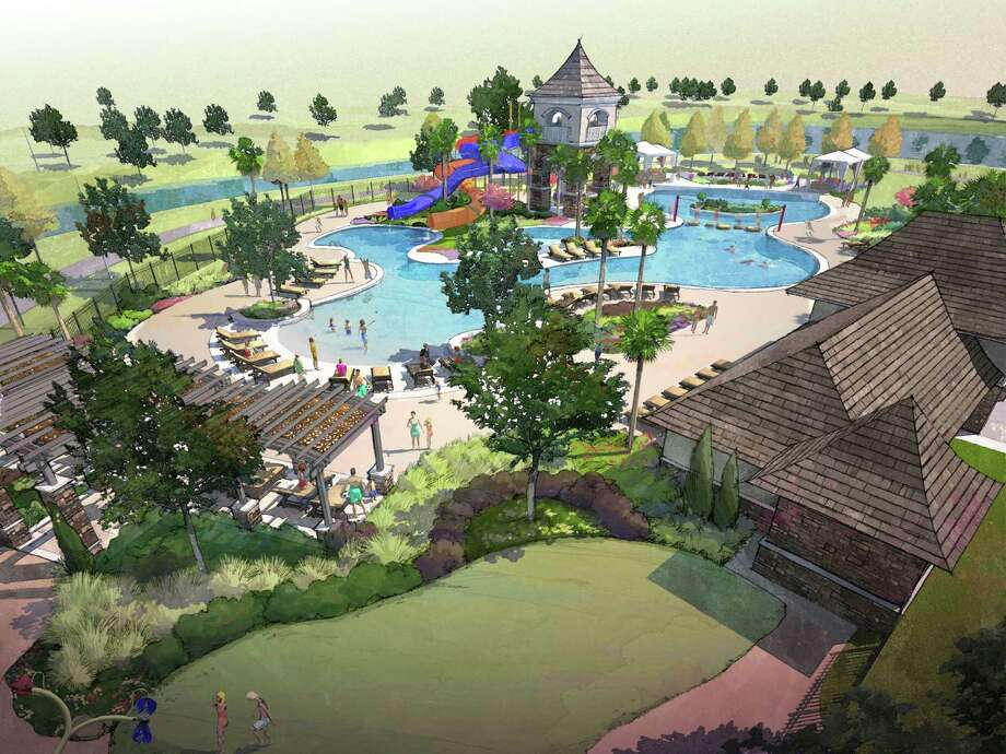 In about a year, Riverstone residents will be able to keep cool at the 17-acre The Club at Riverstone.