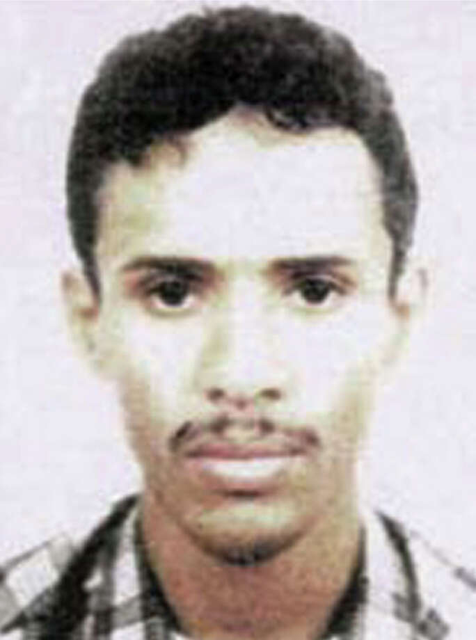 FILE - This file photo released by the FBI Thursday, May 15, 2003 shows Fahd al-Quso, who was charged as an al-Qaida member who helped to plan the attack on the USS Cole that killed 17 American sailors in 2000. Yemeni officials say an airstrike has killed a top al-Qaida leader who was wanted in the 2000 bombing of the USS Cole. Local official Abu Bakr bin Farid said Fahd al-Quso was killed Sunday, May 6, 2012 along with an aide in an airstrike in the southern Shabwa province. (AP Photo/FBI, File) Photo: Anonymous, HOPD / FBI