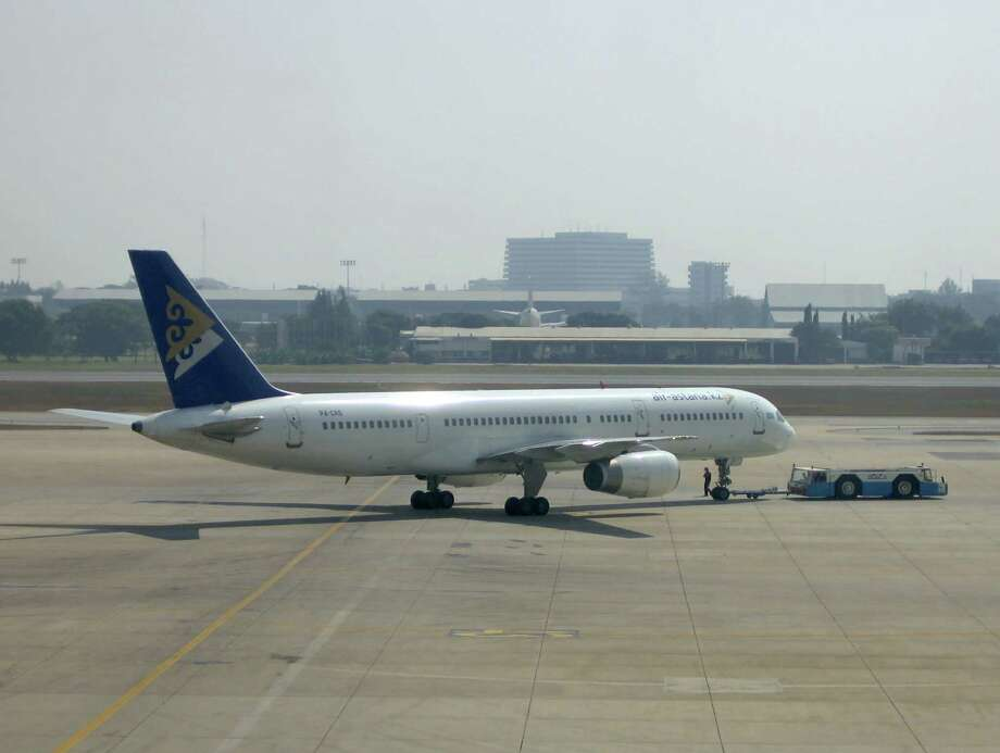 "Air Astana is Kazakhstan's flag carrier. It's slogan is ""From the heart of Eurasia."" Photo:  	Lerdsuwa, Wikimedia Commons"