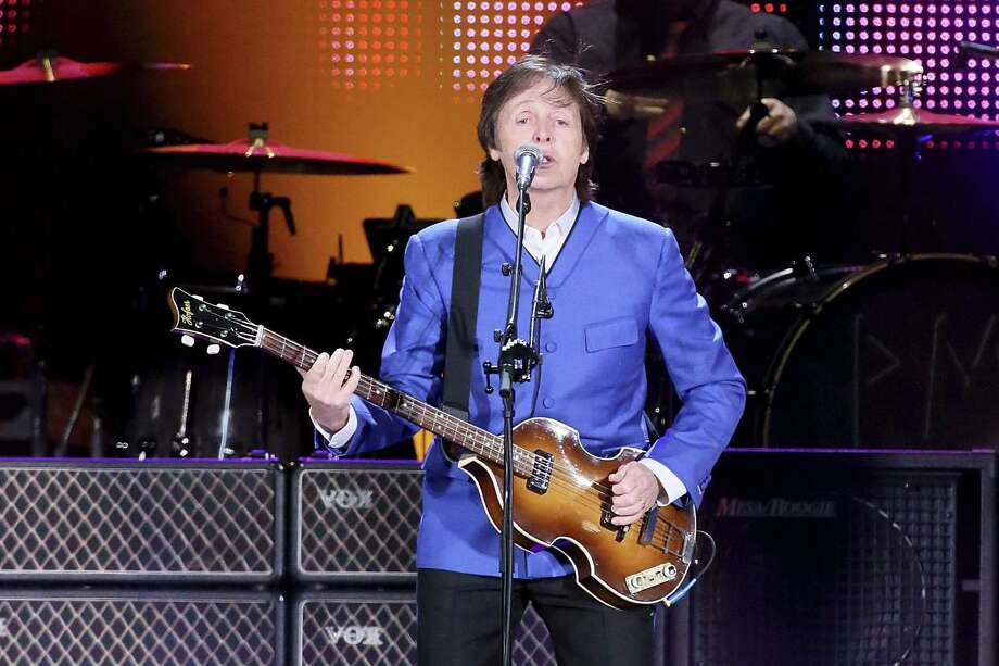 Man on the run: Paul McCartney's tour stops in Austin on Wednesday and Thursday. He played Houston (above) in 2012. Photo: FilmMagic