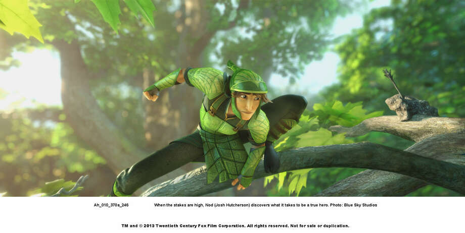 """""""Epic"""" is kid-friendly """"war"""" film set among the forest bugs. Photo: Blue Sky Studios"""
