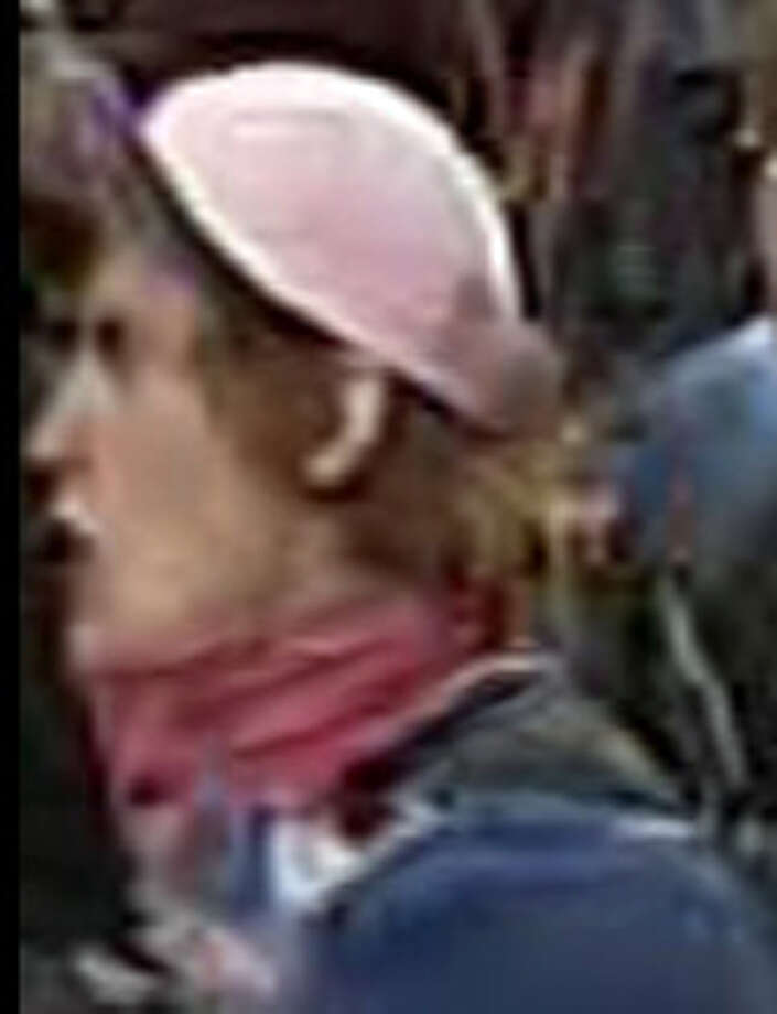 This is another picture of Suspect 1, released May 16 by Seattle police. Photo: SPD