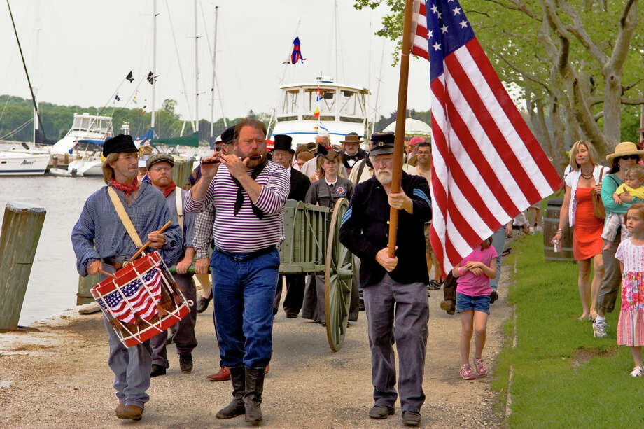 Mystic Seaport will celebrate Decoration Day on Monday, May 27, with ceremonies and a procession. Photo: Contributed Photo