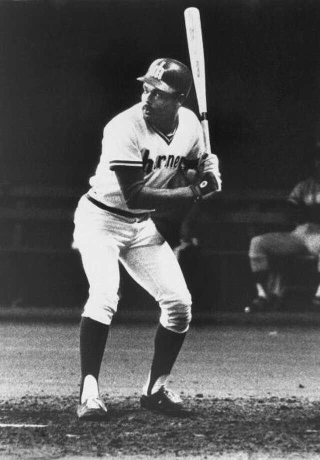 1977: July 8 – Mariners 13, at Minnesota Twins 11Seattle DH Leroy Stanton went 3-for-4 with five RBI, including a three-run homer and a double. Third-baseman Bill Stein hit two solo shots as well, and the M's held off Minnesota's four-run comeback try in the bottom of the ninth.  Photo: B Bennett, Getty Images / 2009 B Bennett