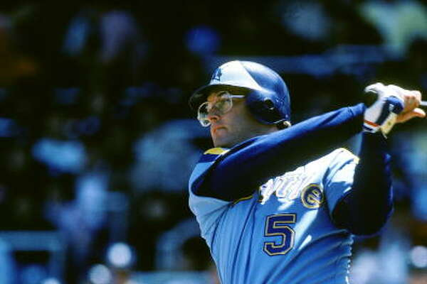 1981: Aug. 14 - Mariners 13, at Minnesota Twins 3 In the second game of a double-header, the M's jumped to a 6-0 lead after two innings and kept piling it on. Right fielder Jeff Burroughs hit three home runs and drove in six runs as the M's finished with 18 hits.