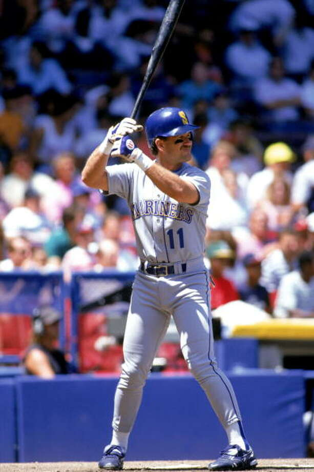 1987: Aug. 6 – California Angels 4, at Mariners 15First baseman Alvin Davis and third baseman Jim Presley each homered and everyone got a hit as the M's chased the Halos out of town.  Photo: Ron Vesely, MLB Photos Via Getty Images / 1987 Ron Vesely