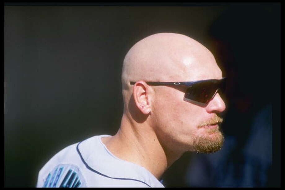 1997: Two games with 15 runs  June 21 – Mariners 15, at Texas Rangers 8  The Rangers looked like they had this one in the bag ... until the M's scored nine runs in the top of the seventh. Jay Buhner had a three-run homer, Joey Cora hit two doubles, and Ken Griffey Jr. was intentionally walked twice.   July 1 – San Francisco Giants 4, at Mariners 15  A six-run third inning put this one away early. Jose Cruz had five RBI on two homers, Alex Rodriguez and Russ Davis each added a dinger of their own, and Ken Griffey Jr. was clutch with two sacrifice flies.  Photo: Harry How, Getty Images / Getty Images North America