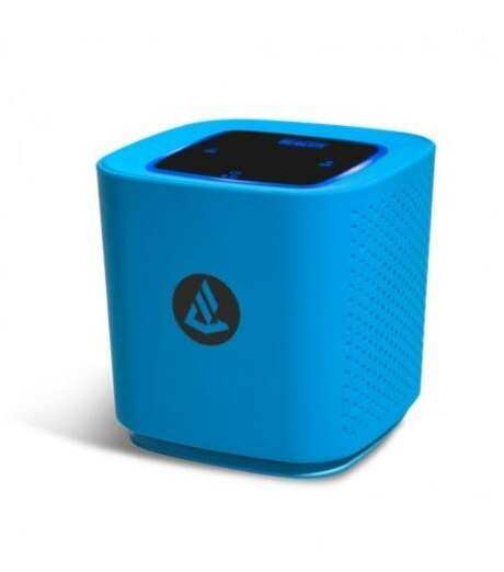 The Phoenix portable Bluetooth wireless speaker is a sound system that can be controlled from an iPhone or similar device. Photo: Beaconaudio.com