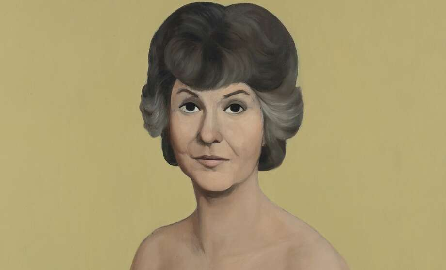"The above photo shows a portion of the painting titled ""Bea Arthur Naked."" It sold at a Christie's auction. (Associated Press)"