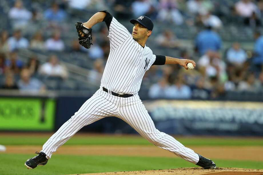 NEW YORK, NY - MAY 16:  Andy Pettitte #46 of the New York Yankees pitches against the Seattle Mariners during their game on May 16, 2013 at Yankee Stadium in the Bronx borough of New York City  (Photo by Al Bello/Getty Images) Photo: Al Bello