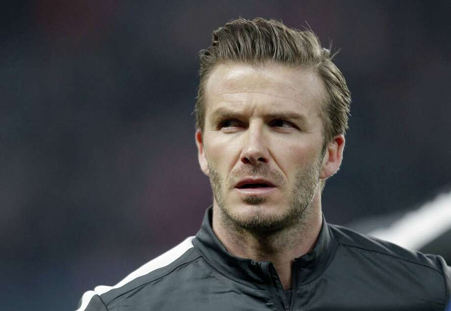 David Beckham said he would retire after playing his final two matches with Paris Saint-Germain.
