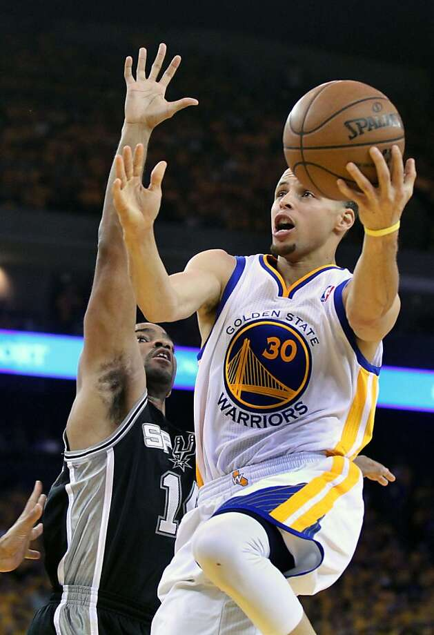 Stephen Curry's 54-point game in New York, three-point shooting and playoff run (above) increased his visibility. Photo: Lance Iversen, The Chronicle