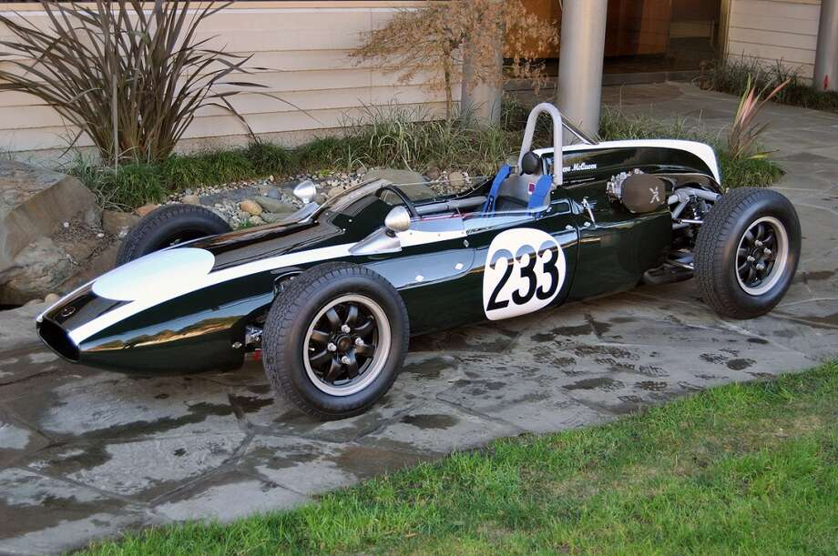 Steve McQueen's Cooper Formula Jr. race car. (Photo: Canepa Designs)