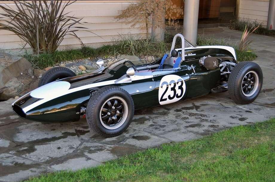 Steve McQueen's Cooper Formula Jr. race car. (Photo: Canepa Designs)