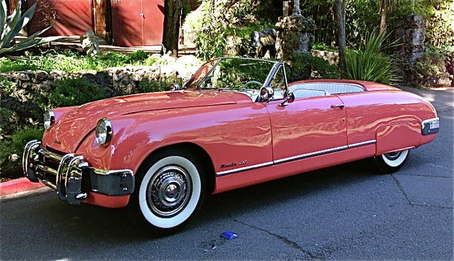A 1953 Muntz Jet that belonged to Gloria DeHaven. (Photo: Sheldon Donig)