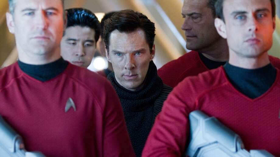 "Benedict Cumberbatch in ""Star Trek Into Darkness"""