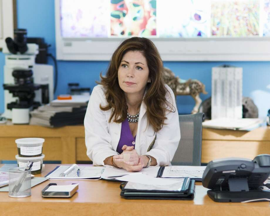 "Dana Delany starred as a Philadelphia medical examiner in ABC's ""Body of Proof."""