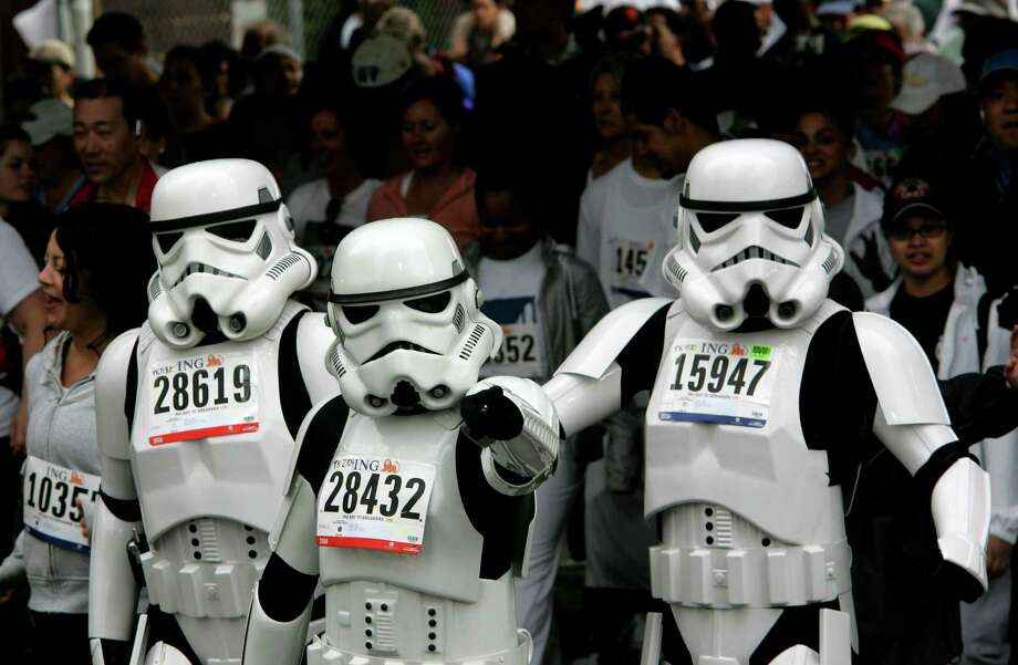 "Storm troopers from the ""Star Wars"" movies were in attendance during 2006 race. Photo: Brant Ward, The Chronicle / SFC"