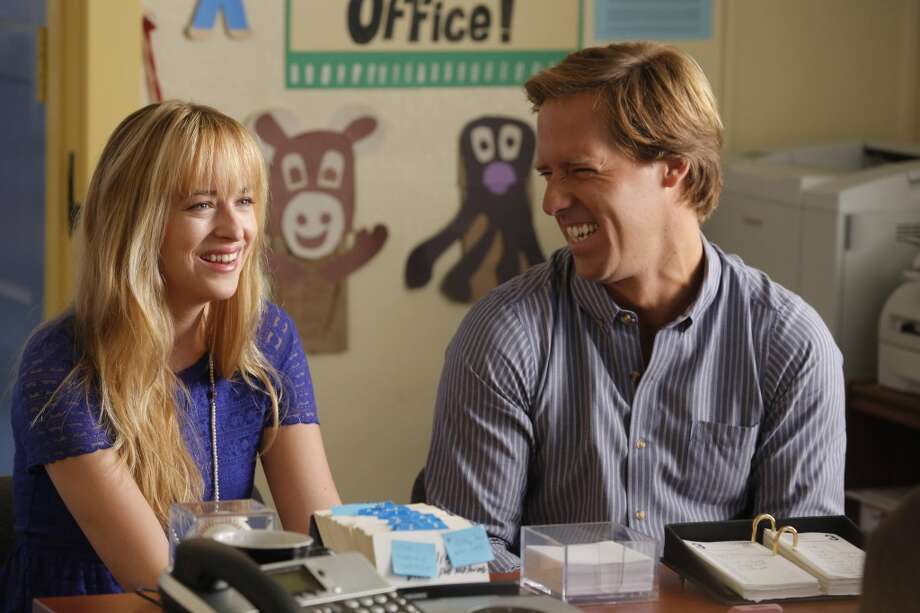 BEN AND KATE: Ben (Nat Faxon, R) and Kate (Dakota Johnson, L)