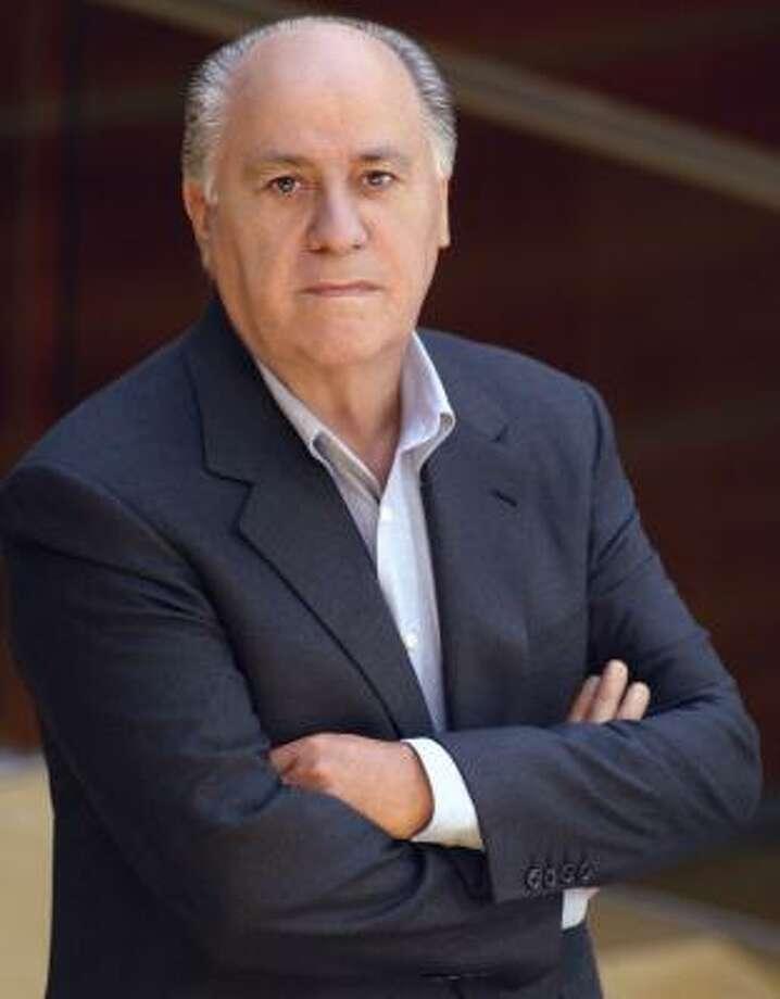 4. Amancio OrtegaNet worth: $56 billionWhy he's so rich: He controls 60% of the shares of the clothing retailer Zara. Photo: AP