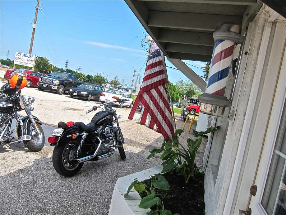 Bikers are welcome at Carlos Beer Garden in Webster.