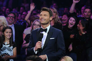 AMERICAN IDOL: Host Ryan Seacrest during the  season 12 AMERICAN IDOL GRAND FINALE at the Nokia Theatre on Thursday. May 16, 2013 in Los Angeles, California.  CR: Ray Mickshaw/FOX