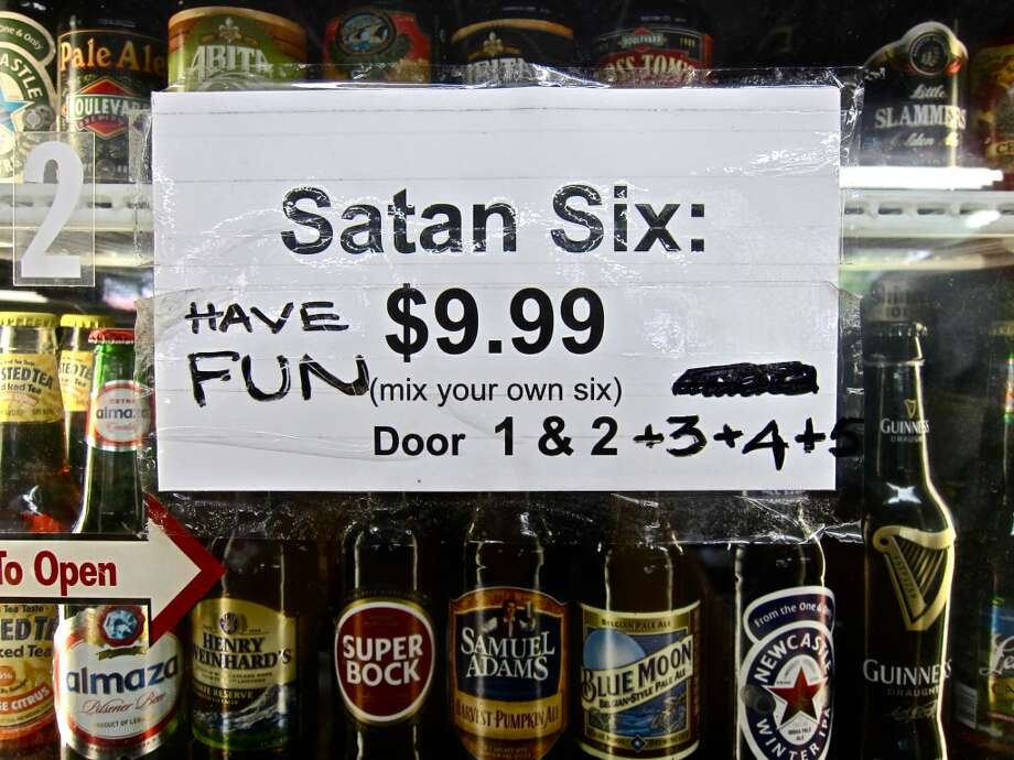 "D&Q Beer Station's famous ""make your own six-pack"" option is called the ""Satan Six."""