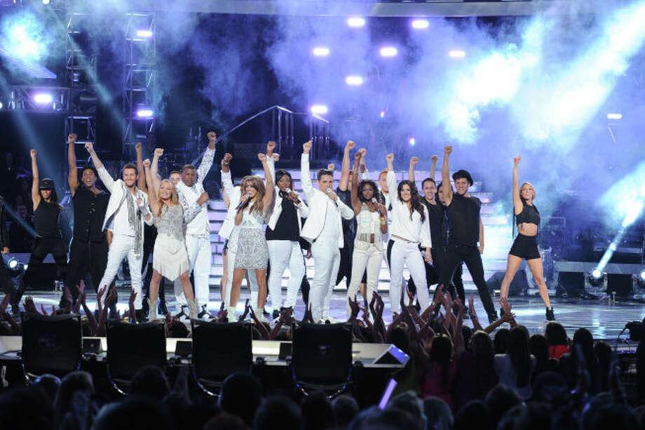 AMERICAN IDOL: The Season 12 Finalists perform during the  season 12 AMERICAN IDOL GRAND FINALE at the Nokia Theatre on Thursday. May 16, 2013 in Los Angeles, California.  CR: Ray Mickshaw/FOX