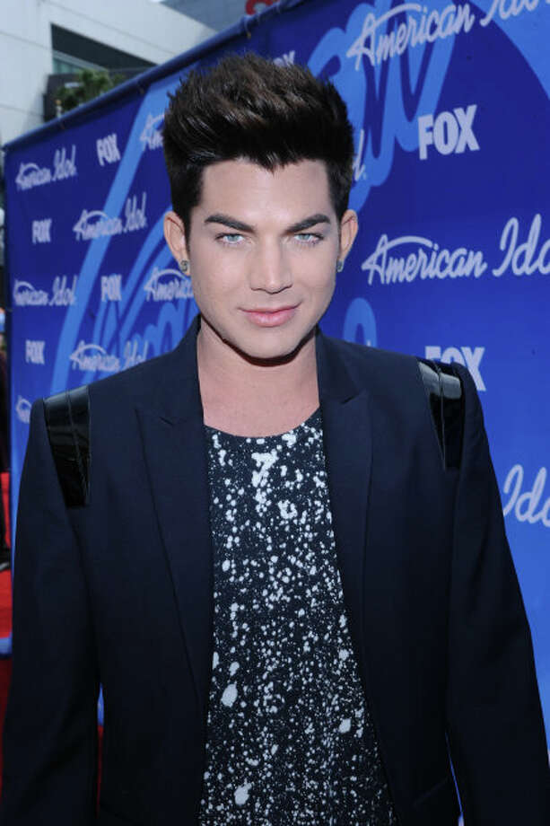 AMERICAN IDOL: AMERICAN IDOL Season Eight Finalist Adam Lambert arrives on the red carpet for the  season 12 AMERICAN IDOL GRAND FINALE at the Nokia Theatre on Thursday. May 16, 2013 in Los Angeles, California.  CR: Ray Mickshaw/FOX