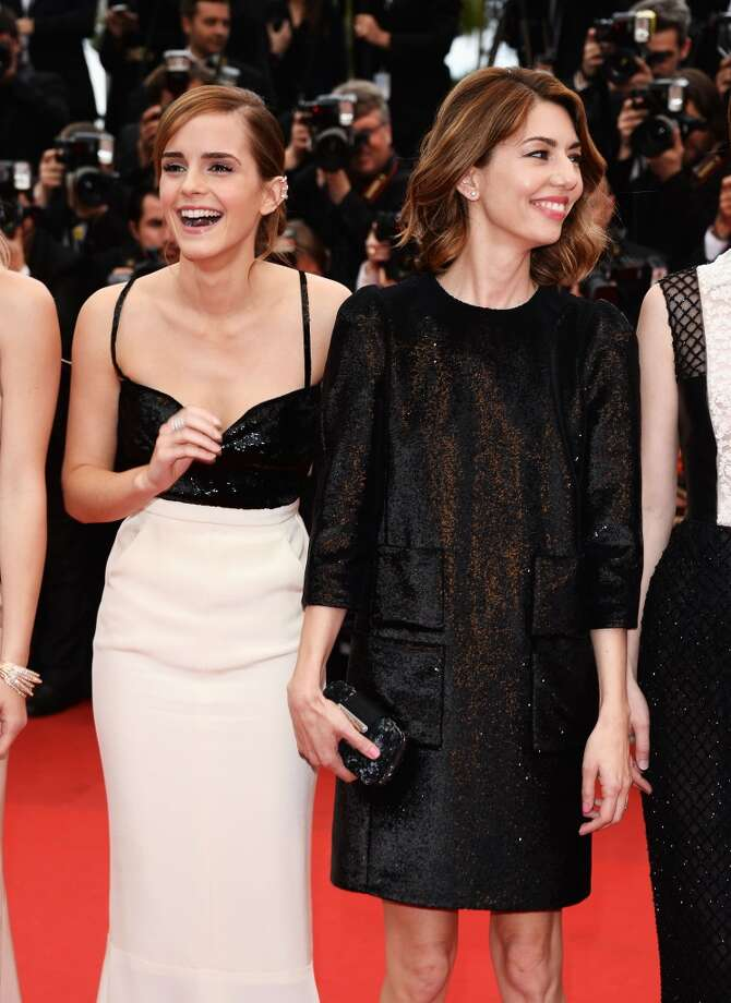 Actress Emma Watson and director Sofia Coppola attend the Premiere of 'The Bling Ring' at The 66th Annual Cannes Film Festival at Palais des Festivals on May 16, 2013 in Cannes, France.