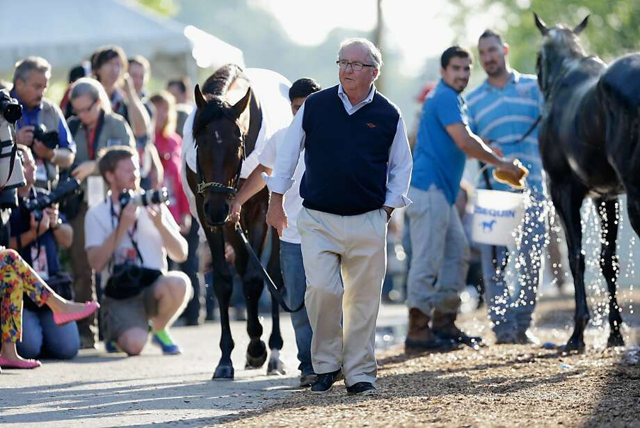 Trainer Shug McGaughey 