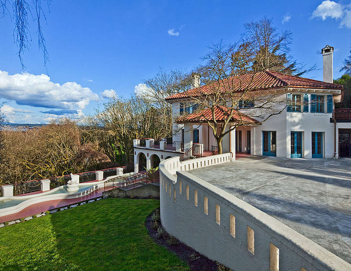 One of the more unique, old mansions to hit the market in recent months is 2222 Everett Ave. E., in Capitol Hill. The 6,897-square-foot Mediterranean-style home was built in 1926, but extensively updated. It has four bedrooms, three bathrooms, two fireplaces, ornate, hand-restored ironwork and millwork, a ballroom, an office, a family room, a game room, a media room, a sun room, a play room, a two-car garage, a 1,794-square-foot unfinished sub-basement, a fountain, decks and patios on a 30,986-square-foot property. It's listed for $3.495 million.