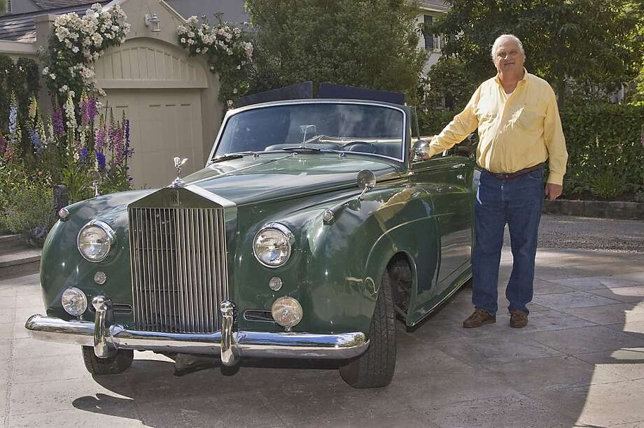 Karl Kardel is a Bay Area restoration contractor, cinefile and car enthusiast. A native of Michigan, he lived in India and Denmark before moving to the Bay Area to attend Cal in 1959. He is now a proud owner of a convertible 1960 Silver Cloud II. Photo: Stephen Finerty, Photograph By Stephen Finerty, A