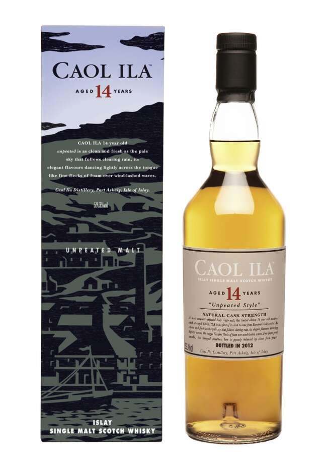 Caol Ila 14:  I like the Caol Ila 14, and it's not a bad alternative to the more familiar iteration you see in stores. (59.3% alc.; $103)