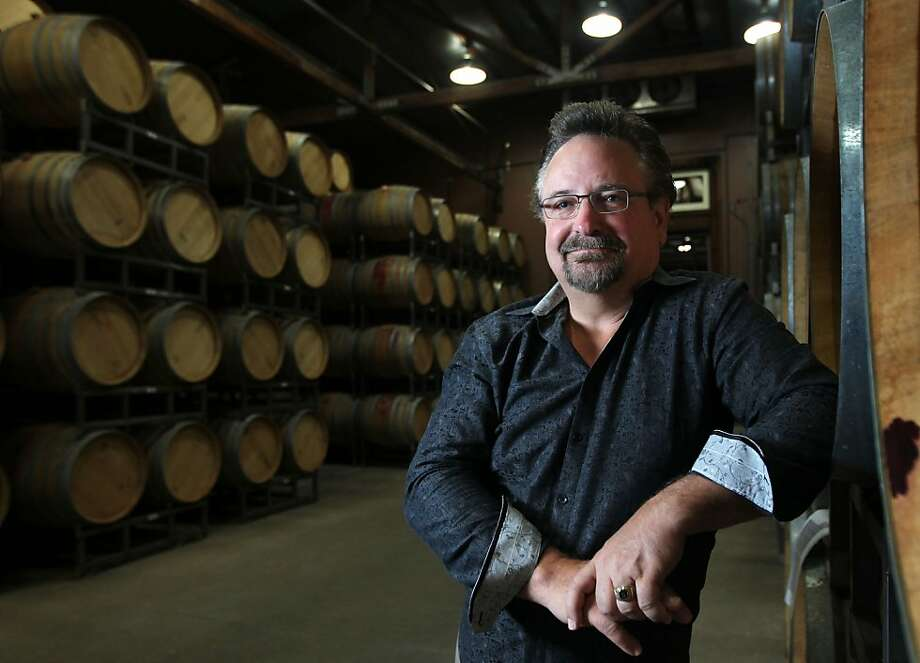 Banker Rob McMillan formed the wine division at Silicon Valley Bank in 1992. Photo: Lance Iversen, The Chronicle